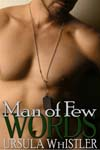 Cover Reveal for Man of Few Words
